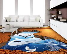 3D aereo tramonto Pavimento Foto Wallpaper Murales Muro Stampa Decalcomania