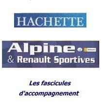 Hachette - Alpine & Renault sportives - Fascicule d'accompagnement (au choix)