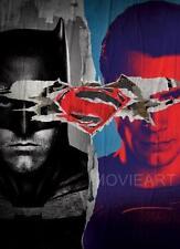BATMAN V SUPERMAN DOUBLE TEXTLESS MOVIE POSTER FILM A4 A3 ART PRINT CINEMA