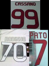 Ac Milan Kit Personalizzazione Printing Nameset x maglia calcio tg PVC 2010 11