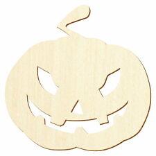 Halloween Holz Kürbis (V4) - Deko Zuschnitte Größenauswahl