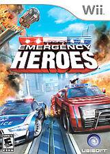 Emergency Heroes Nintendo Wii Kids Ambulance Firemen Video Game Only 53