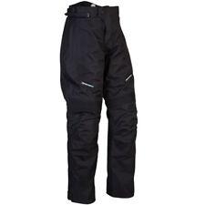 Spada Milan tex-moto Moto Pantalon - Noir jambe courte