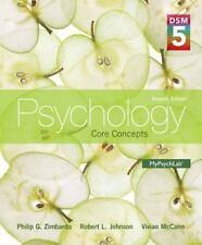 Psychology : Core Concepts with DSM-5 Update by Robert Johnson, Vivian McCann...
