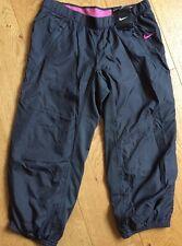 Nike Woven Capri 3/4 Pants Womens Dark Grey Fitness Flash Trousers UK XS
