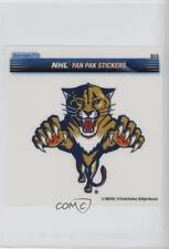 2008-09 Enterplay Fan Pak Stickers #S13 Florida Panthers Team Hockey Card