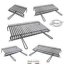 Graticola in acciaio inox, griglia inox per barbecue con recupero oli + OMAGGI
