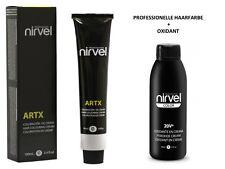 Nirvel Haarfarbe Alle Nuancen mit Oxidant Haar coloration