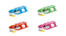 Schlitten Kinderschlitten Lenkschlitten Kunststoff Winter ISP 4 Farben