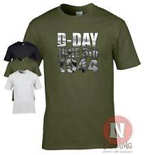 D-Day T-shirt World War 2 allies WWII WW2 reenactor operation Overlord June 1944