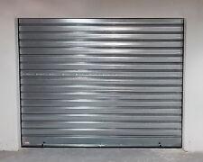 Serranda automatica in acciaio zincato 10/10 su misura per garage negozi ecc.