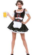 Sexy Adult Halloween Oktoberfest Beer Maiden Costume