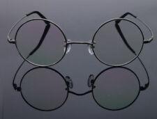 100% Pure Titanium Vintage Round Optical Flexible Eyeglass Frame Spectacles 8786