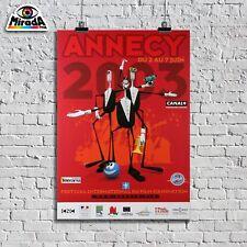 POSTER LOCANDINA  ANNECY FILM FESTIVAL D'ANIMATION 2003 COMICS QUALITY GRAPHICS