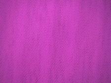 Dress Net/Tuille/Tutu/Wedding/Dress Fabric Flo Pink  FREE P+P
