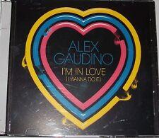 ALEX GAUDINO PROMO CD SINGLE I'M IN LOVE  ( 2010)
