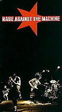 RAGE AGAINST THE MACHINE (VHS TAPE, 1997) LIVE CONCERT VIDEO ZACK DE LA ROCHA