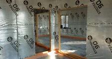 Vapour Barrier Thermal Insulation Aluminium Foil Membrane 1 to 3 Rolls 75SQ/M