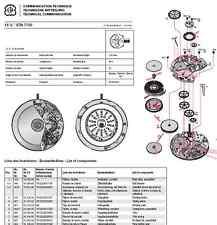 Planche technique technische mitteilung eta unitas 6497