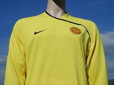 BNWT Manchester United 2008 CL Unsponsored Goalkeeper Player Issue Shirt XXL