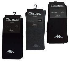 2 PAIRS SOCKS LONG - SOCKS LONG UNISEX. KAPPA. COTTON. K506 BLUE BLACK GREY
