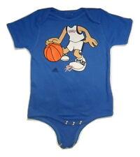 Adidas Oklahoma City OKC Thunder Baby Boy Creeper Basketball Player Romper New