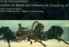 """ČAJKOVSKIJ CONCERTO PER PIANOFORTE NR.1 CHERKASSKY LEOPOLD LUDWIG 12"""" LP (L8010)"""