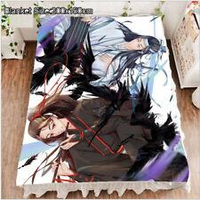 Fleece Blanket Queen Grandmaster of Demonic Cultivation MDZS Otaku 200x150cm