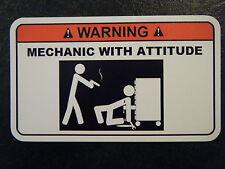 mechanic attitude Tool Box Warning Sticker Must Have!! snapon mac dewalt