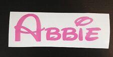 Nome Personalizzato Adesivo Decalcomania Etichetta per Bambino/Bambini Equilibrio Bicicletta formazione giocattolo