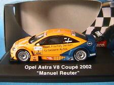 OPEL ASTRA V8 COUPE #7 2002 MANUEL REUTER SCHUCO 04803 1/43 BOSCH FRISCHES