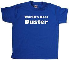 World's Best Duster Kids T-Shirt