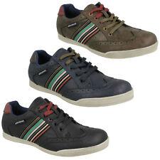 Lambretta Harrison Hombre Zapatos Casual Con Cordones