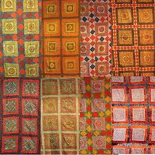 edelste schwere indische Decke Indien Orient Wandbehang Tagesdecke HANDARBEIT