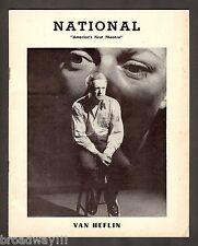 "Van Heflin ""THE SHRIKE"" Doris Dalton / Pulitzer Prize 1952 Playbill and Ticket"