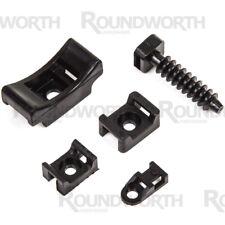 Cable Tie Wall Fixings Masonry Mount/Cradle/Eyelets/Bracket/Saddle/Base Screw-On