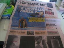 GAZZETTA DELLO SPORT 30/07/2012 PELLEGRINI ALONSO OCCHIUZZI FORCINITI LONDRA