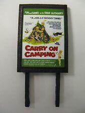Carry On Camping Model Railway Billboard - N Gauge, OO Gauge & O Gauge