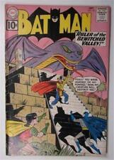 BATMAN COMICS #142 SEPT 1961 BATMAN ROBIN BEWITCHED VALLEY ROBOT ANCIENT MARINER
