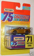 Matchbox 75 Challenge Mustang Cobra (#71) 1997 Edition