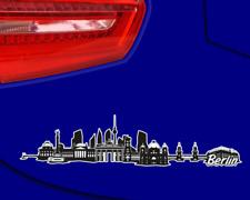 Berlin City Skyline Aufkleber Sticker Autoaufkleber Gedruckt