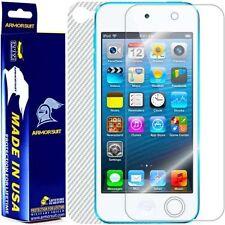 ArmorSuit MilitaryShield Apple iPod Touch 5G Screen + White Carbon Fiber Skin!