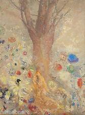 Odilon Redon The Buddha Giclee Canvas Print