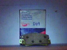 RENAULT R12 R15 R16 69-76 FRONT ORGANIC BRAKE PADS D49