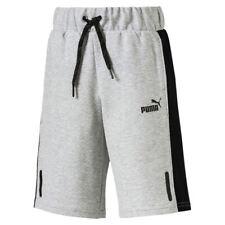 PUMA Sweatshorts Shorts Bermuda Sports Style medium gray