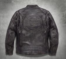 Harley Davidson Men's Dauntless Convertible Leather Jacket Vest M XLT 98133-17VM