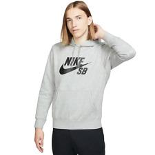 737a10ebc0 Nike SB Icon Hoodie Heather Grey / Black