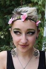 Pretty Floral Flower Festival Wedding Garland Forehead Hair Head Band