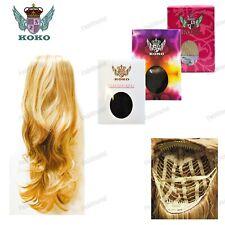"KOKO Wavy Flicky 28"" Synthetic Half Head Wig – Emma"