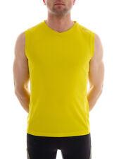 CMP camicia funzionale Canotta fitness canottiera GIALLO TRASPIRANTE